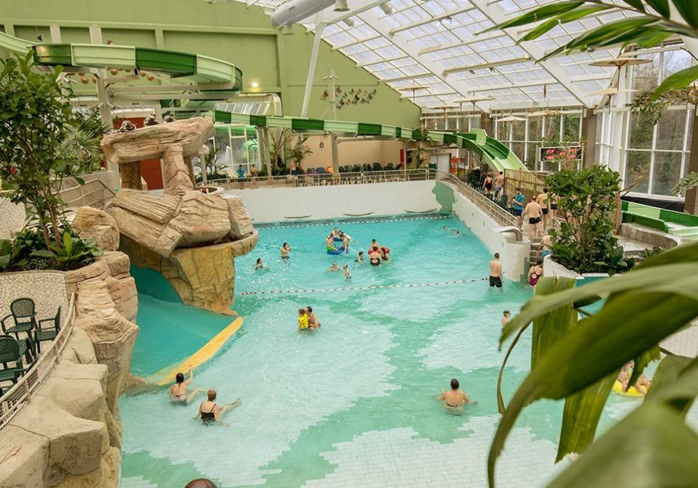 Au Center Parcs de Vielsalm, l'eau est source de plaisirs