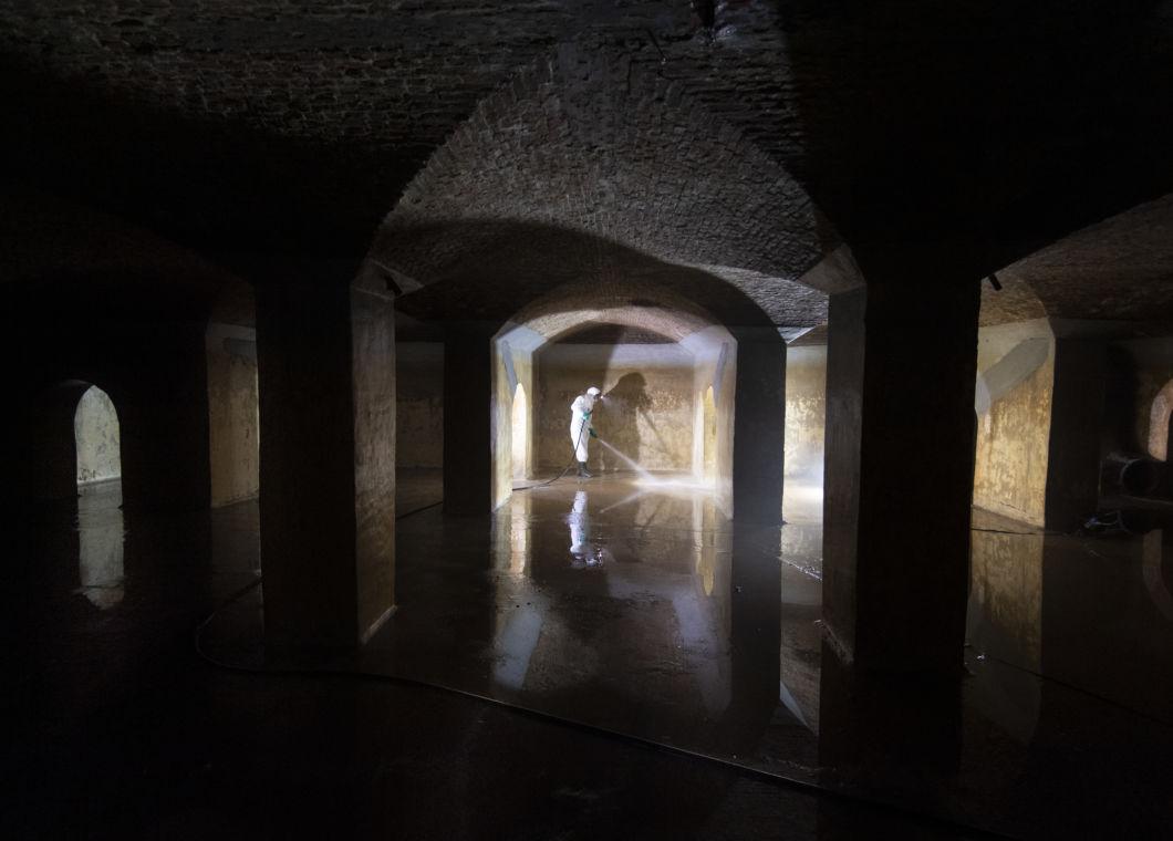 En images : Dans les entrailles du beffroi de Mons