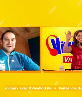Un chèque de 10.000€ au profit de Viva For Life grâce à la #TeamSWDE