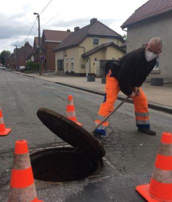 Privé de Doudou, Saint-Georges traque les fuites d'eau pour la SWDE
